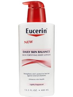 Eucerin Daily Skin Balance Skin-Fortifying Body Lotion Review: Skin Care: allure.com***Salicylate Free***