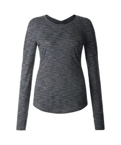 This slim fit top was designed with anti-stink coverage and a back v-neck to keep you cool in high sweat zones.