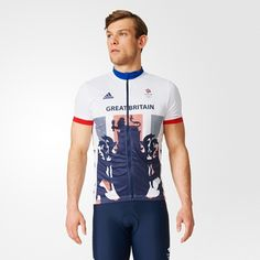 Team GB Replica Cycling Jersey - Mens
