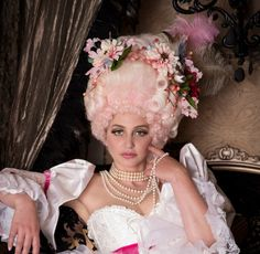 Marie Antoinette Wig by CyndiPiotrowskiWigs on Etsy