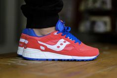 Saucony Shadow 5000 - Red - Blue - White