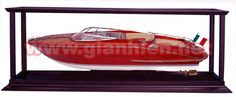 self assemble display case for speed boat models Nautical Furniture, Alfa Alfa, Wooden Ship, Display Cases, Wooden Animals, Speed Boats, Model Ships, White Paints, Sailing