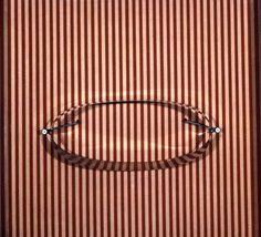 Julio Le Parc - Contorting Circles Over Red Matrix, 1969, Sculpture Argentina