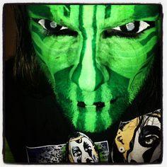TNA Impact Zone - 27 Sep 2012 Best Wwe Wrestlers, Wwe Jeff Hardy, The Hardy Boyz, Cool Face, Creatures Of The Night, War Paint, Wwe Hardys, Wwe Stuff, Instagram Posts