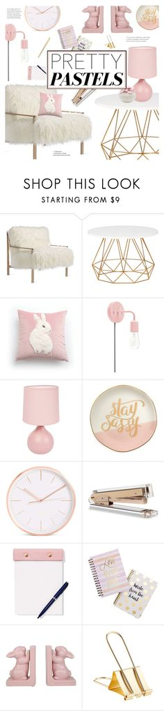 """""""Pretty Pastel Home Decor"""" by virginia-laurie ❤ liked on Polyvore featuring interior, interiors, interior design, home, home decor, interior decorating, Axel, Slant, StudioSarah and Tri-coastal Design"""