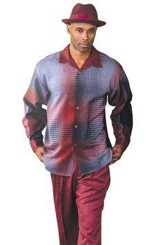 Montique Long Sleeve Walking Suit #1125