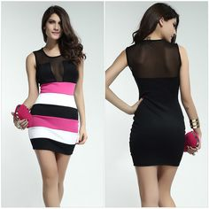 Find More Apparel & Accessories Information about 2014 New European Spring & Summer women dress Sleeveless Tight mesh nudity hip nightclub Sexy dress Empty thread party dresses,High Quality Apparel & Accessories from Scool Team on Aliexpress.com