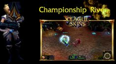 LeagueSkins is an user based website and is giving away free Championship Riven codes as well as Arcade Sona and Full Metal Rammus skin codes. You can claim rare skin codes for free at http://www.youtube.com/watch?v=492WeizcwNM