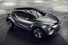 Серийный Toyota CH-R будут выпускать в Турции