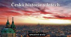 Tento vědomostní kvíz tě provede důležitými milníky tisícileté české historie až do současnosti a oznámkuje tě.