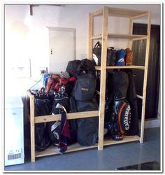 Attractive Diy Golf Bag Storage