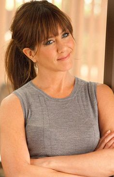 Jennifer Aniston as a brunette