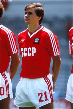 Vassili Rats of USSR at the 1986 World Cup Finals.