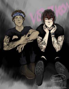 punk Klance / Lance / Keith / voltron