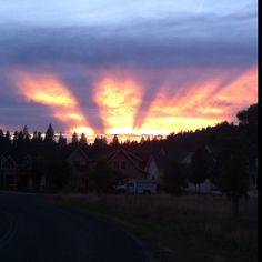 Calaveras County sunset  - www.arnoldblackbearinn.com