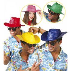 Sombrero de Paja Vaquero #sombrerosdisfraz #accesoriosdisfraz #accesoriosphotocall
