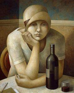 Art, Painting. Fabio Hurtado, Spanish painter.