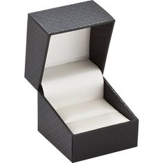 Black Earring or Ring Box...(61-0750:100000:T).! Price: $9.99 #necklacebox #jewelrybox