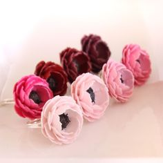 paper flower rings, can i make it with fabric?