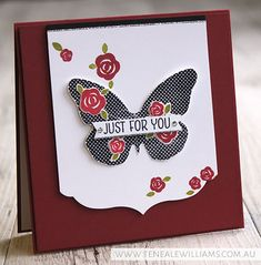 By Teneale Williams | Stampin' Up! Floral Wings Stamp Set [Hostess]