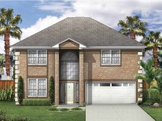 Build your ideal home with this New American house plan with 3 bedrooms(s), 2 bathroom(s), 2 story, and 2121 total square feet from Eplans…