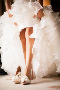 Los zapatos de la novia. #fotos #boda