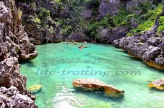 Natural Pool   Isla Gigantes, Carles  Iloilo, Philippines