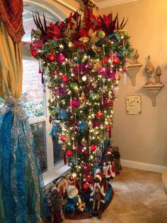 Upside Down Christmas Tree Origin.44 Best Upside Down Christmas Trees Images Upside Down