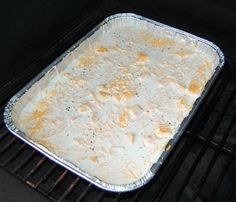 Ridiculously good smoked mac and cheese - use 1 less cup of liquid, 15 min less cook time. Traeger Recipes, Grilling Recipes, Gourmet Recipes, Smoker Grill Recipes, Venison Recipes, Tailgating Recipes, Rib Recipes, Oven Recipes, Sausage Recipes