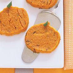 Pumpkin Polenta Pumpkins   MyRecipes.com