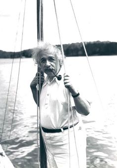Albert Einstein    Saranac Lake, New York