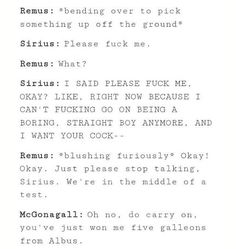 Image result for remus x sirius
