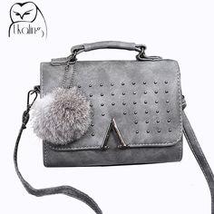 296a8e6937f7c UKQLING Brand 2017 Women Messenger Bags Women s Handbag Luxury Handbags  Women Bags Designer Purse Lady Purse Flap Sac Tote Small-in Crossbody Bags  from ...