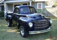1949 Studebaker R25 Pick Up Classic Truck Styling! Beautiful Inside & Out!