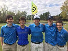 Wildcat Golf Team at Bartram Trail Golf Club Today | Westminster Schools of Augusta
