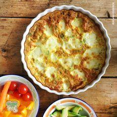 Super snelle Frittata, wanneer je weinig tijd hebt. Veggie kidz snel simpel en gezond koken en bakken voor je kinderen.