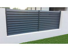 Fence Wall Design, House Main Gates Design, Modern Fence Design, Patio Design, House Design, Modern Gates, Entrance Gates, House Entrance, Boundary Walls