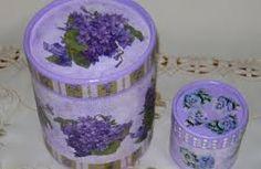 Resultado de imagen de cajas trabajo hecho con servilletas