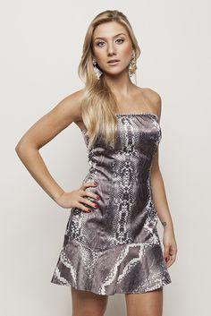 Vestido TQC strass #AnnaBellaLoja