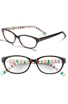 Kate Spade reading glasses. Find out her lens strength and head to the accessories dept. at Nordstrom! (and they come in a super cute case!)