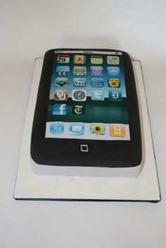 Groom's Cakes NY - iPad Custom Cake