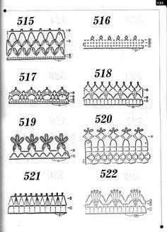 【转载】精品钩针新花样600种--3*花边*基础* - kf137gq791的日志 - 网易博客