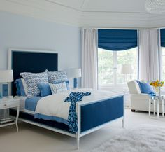 The Best Color For A Restful, Relaxing Room Is A Cool Blue (PHOTOS)