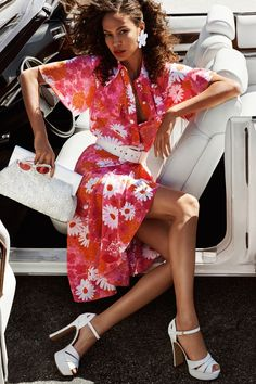 Photographed by Mario Testino, Joan Smalls stars in Michael Kors spring 2017 advertising campaign
