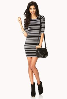 Sleek Sweater Bodycon Dress | FOREVER 21 - 2031557890