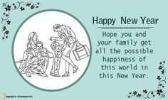hope you and your family get all the possible new year greeting cards 2017