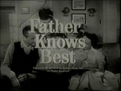 Here is the original opening for the Father Knows Best TV series during its third season It's sponsor was Scott Paper Company. Love Movie, Movie Tv, Tv Theme Songs, Father Knows Best, Robert Young, Tv Themes, Family Show, Old Tv Shows, Classic Movies