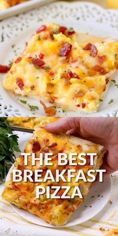 Breakfast Dishes, Healthy Breakfast Recipes, Best Breakfast Foods, Quick Easy Breakfast, Simple Breakfast Recipes, Yummy Breakfast Ideas, Breakfast Egg Bake, Chicken Breakfast Recipes, Breakfast Nachos