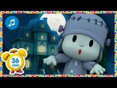 🎃 HALLOWEEN: Pocoyo and The Haunted House Song 👻 [36 minutes] Nursery Rhymes & Baby Songs - Pocoyo - YouTube Nursery Rhymes In English, Kids Nursery Rhymes, Rhymes For Kids, Casa Halloween, Halloween Songs, Pet Dogs, Pets, Kids Around The World, Baby Songs