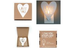 Love You night light from Housey Home